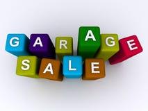 Garaż sprzedaż Zdjęcia Stock
