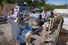 Garaż sprzedaż Gesheft w Odessa Zdjęcie Royalty Free