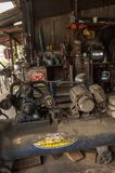 Garaż w Bangkok, Tajlandia obrazy royalty free