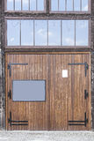 Garaże i drzwi Fotografia Stock