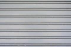 Garażu metalu drzwiowy tło Obrazy Stock