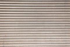 Garażu zbliżenia Drzwiowy szczegół Obraz Royalty Free
