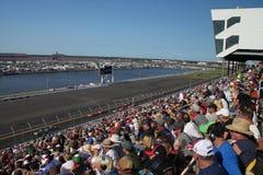 Gara motociclistica su pista del International di Daytona Fotografia Stock Libera da Diritti