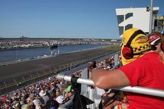 Gara motociclistica su pista del International di Daytona Immagini Stock Libere da Diritti