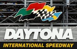 Gara motociclistica su pista del International di Daytona Fotografie Stock Libere da Diritti