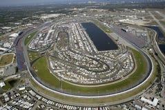 Gara motociclistica su pista del International di Daytona Immagine Stock