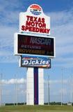 Gara motociclistica su pista del motore del Texas a Fort Worth il Texas fotografia stock libera da diritti