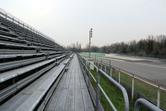 Gara motociclistica su pista di motore di Monza Fotografie Stock Libere da Diritti