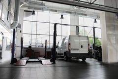garaż naprawa Obrazy Royalty Free