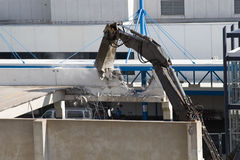 garażu demolition postojowe Zdjęcie Royalty Free
