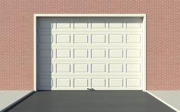 Garażu drzwi Obrazy Royalty Free