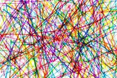 Garabato colorido Imágenes de archivo libres de regalías