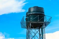 Garabato de la torre de agua en Chiang Mai Thailand imagen de archivo