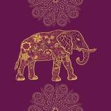 Garabato del elefante libre illustration