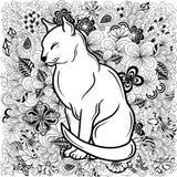 Garabato del gato libre illustration