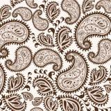 Garabato a mano de Henna Mehndi Abstract Mandala Flowers y de Paisley Imágenes de archivo libres de regalías