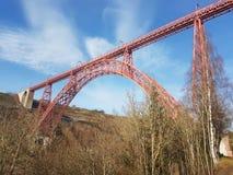 Garabit高架桥在法国 图库摄影
