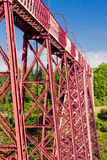 Garabit Viaduct. Cantal Departement, Auvergne, France Royalty Free Stock Photography