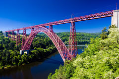 Garabit Viaduct stock image