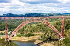 Garabit Viaduct Stock Photo