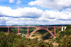 Garabit Viaduct Royalty Free Stock Photos