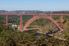 The Garabit Viaduct, France Royalty Free Stock Photography