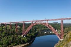 The Garabit Viaduct, France Royalty Free Stock Photo
