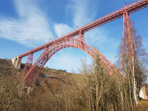 Garabit-Viadukt in Frankreich Stockfotografie