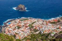 Garachico。 特内里费岛。 免版税库存照片