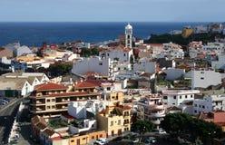 Garachico. Cidade em Tenerife Fotografia de Stock Royalty Free