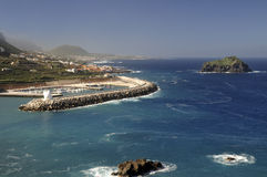 Garachico, in the north of the island of Tenerife Stock Images