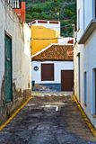Garachico Rural Streets, Tenerife Stock Photo