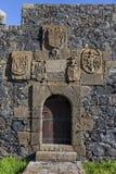 Garachico Spain. 06-06-2019.   San Miguel castle at  Garachico Tenerife. Canary Islands. Spain stock photography