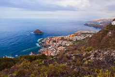 Garachico in Tenerife island - Canary Stock Photo