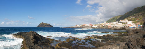 Garachico, Tenerife island, Spain stock images