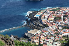 Garachico. Town in Tenerife Royalty Free Stock Images
