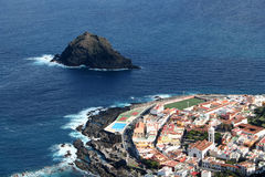 Garachico. Town in Tenerife Stock Images