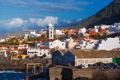 Garachico Town in Tenerife stock photos