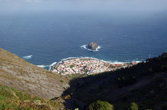 Garachico - View from above. Garachico, Tenerife - View from above Royalty Free Stock Images