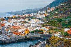 Garachico w Tenerife, wyspy kanaryjska, Hiszpania zdjęcia stock