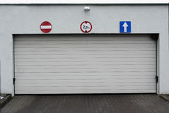 Garage Stockbild