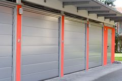 Garage Royaltyfria Bilder