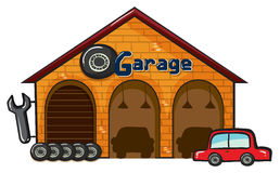A garage Stock Photo