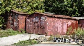 garage Photos stock