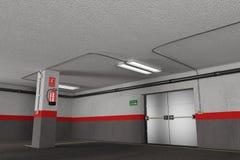 garage Royaltyfri Bild