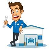 garage illustrazione vettoriale