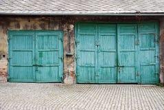 Garage royalty-vrije stock afbeeldingen