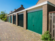 Garage boxes Royalty Free Stock Photography