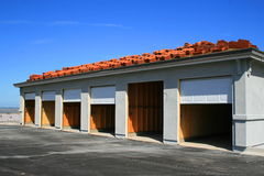 Garage Building Under Construction Royalty Free Stock Images
