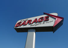 The Garage Burgers & Beer, Oklahoma City, OK Royalty Free Stock Image